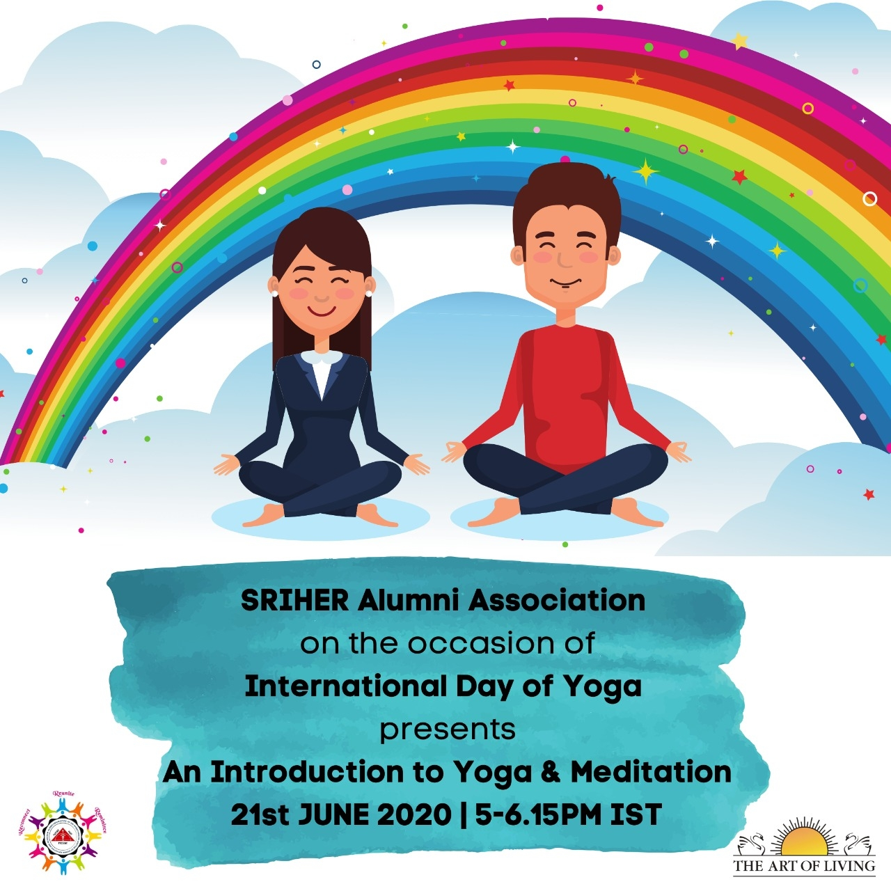 SRIHER Alumni Association - International Day of Yoga