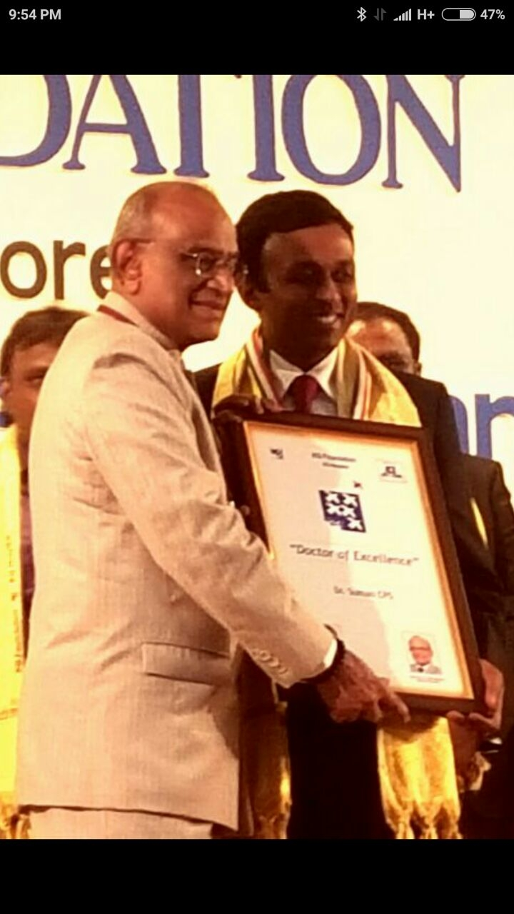 DOCTOR of EXCELLENCE award
