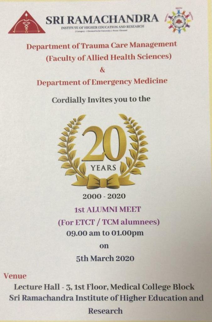 ETCT 1st Alumni Meet