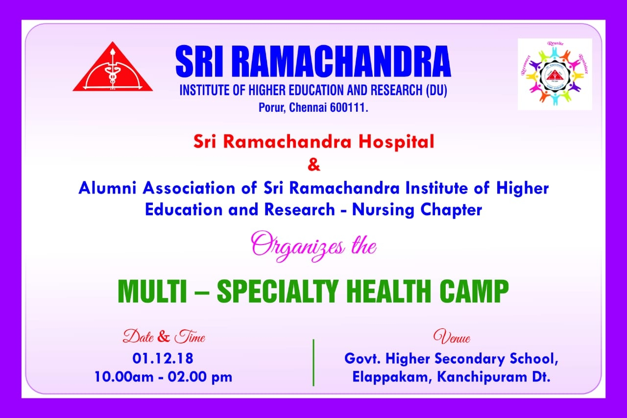 Multi Speciality Health Camp